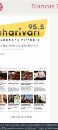 Screenshot von biancas-blog.de
