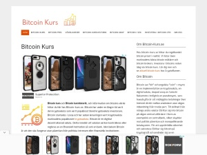 Screenshot of bitcoin-kurs.se