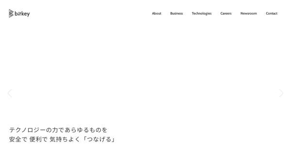 Screenshot of bitkey.co.jp