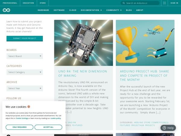 arduino公式ブログ