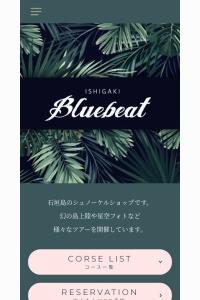 Screenshot of blue-beat.com