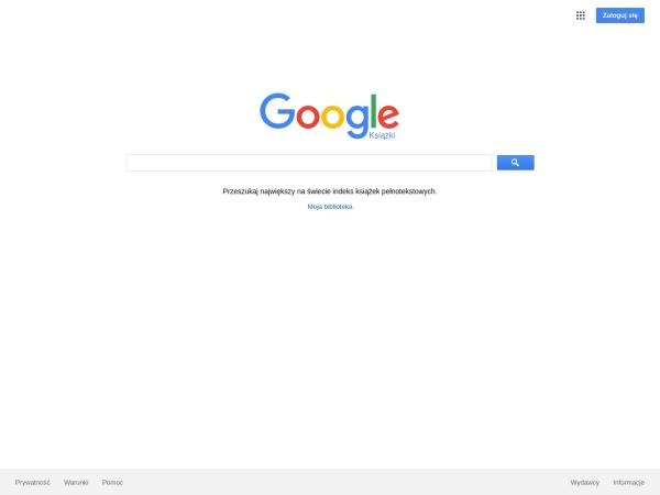 Screenshot of books.google.pl