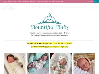 Screenshot of bountifulbaby.com