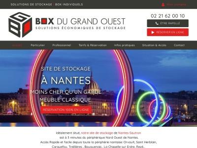 Box stockage, gardes meuble et location de box à Nantes – Box Du Grand Ouest Sautron