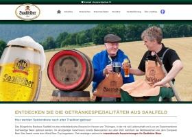 Screenshot of brauhaus-saalfeld.de