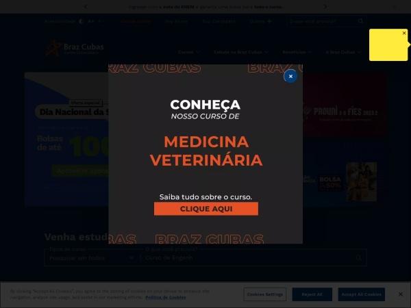 Screenshot of brazcubas.br