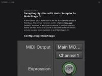 Screenshot of brianli.com