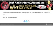 https://brustersicecream.secondstreetapp.com/Brusters-30th-Anniversary-Sweepstakes/
