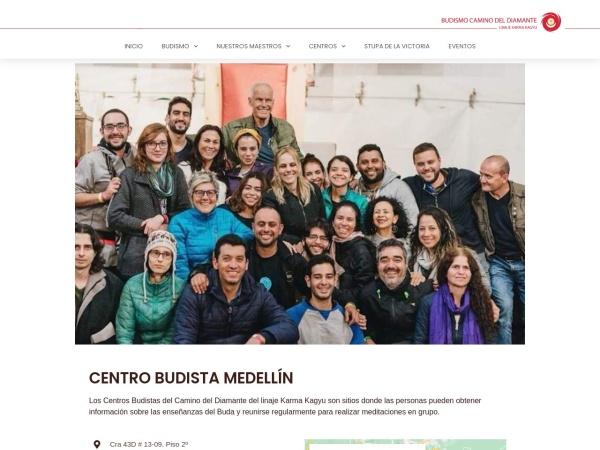 Captura de pantalla de budismocolombia.co