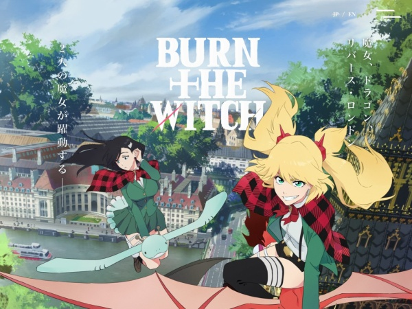 Screenshot of burn-the-witch-anime.com