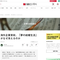 Screenshot of business.nikkei.com