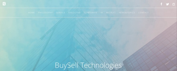 Screenshot of buysell-technologies.com