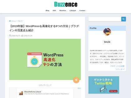 https://buzzence.com/blog/wordpress-how-to-speedup/