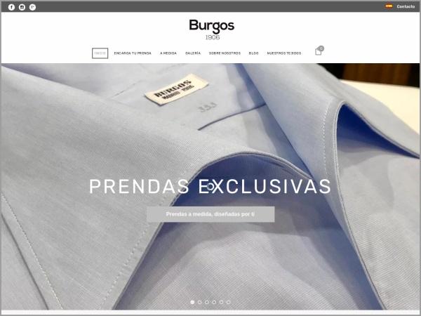 Captura de pantalla de camiseriaburgos.com