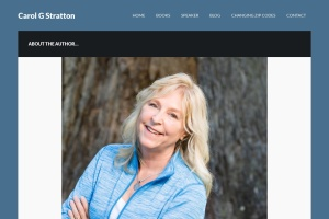Screenshot of carolgstratton.com
