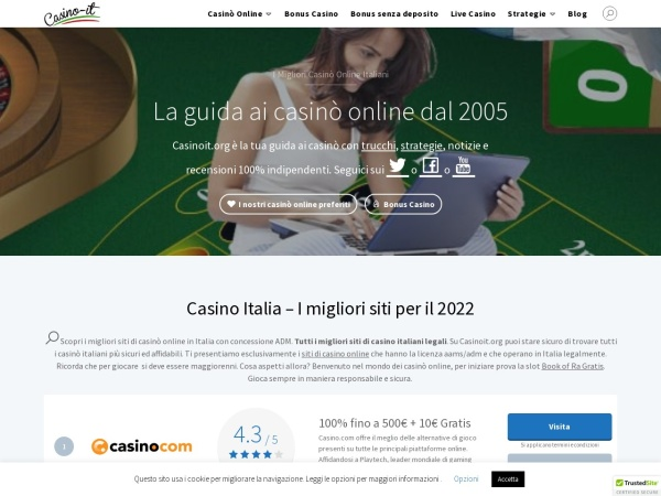 Screenshot of casino-it.org