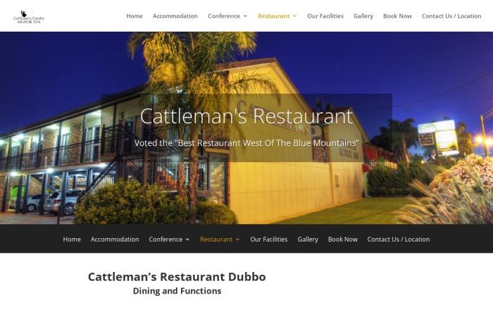 Screenshot of cattlemans.com.au