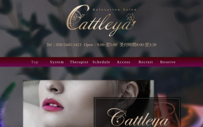 Screenshot of cattleya-ikebukuro.com