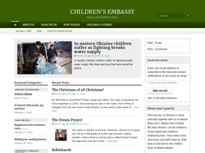 Childrens Embassy Screenshot