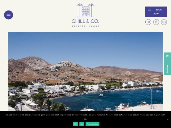 Screenshot of chillandcoserifos.com