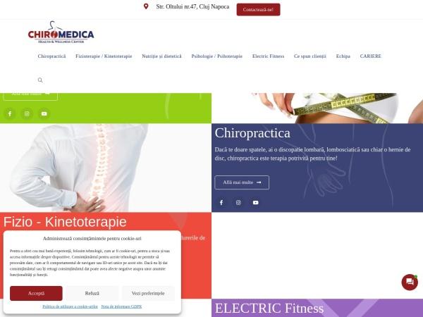 Screenshot of chiromedicahealthcenter.ro
