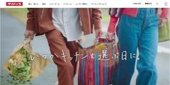 Screenshot of cleanup.jp