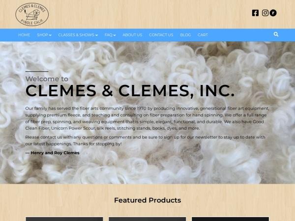 Screenshot of clemes.com