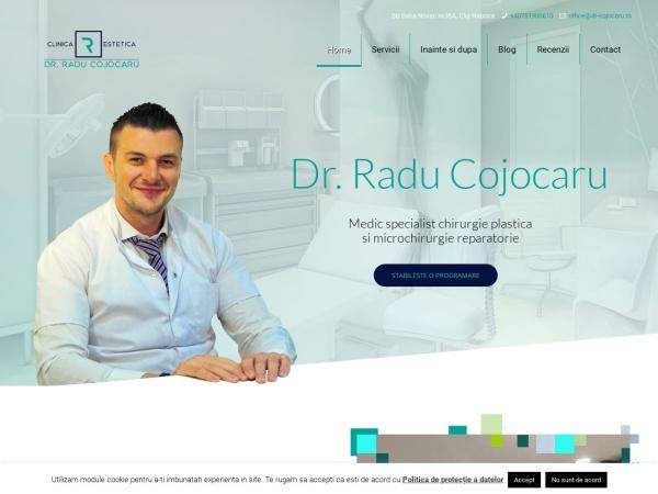 Screenshot of clinicaestetica.ro