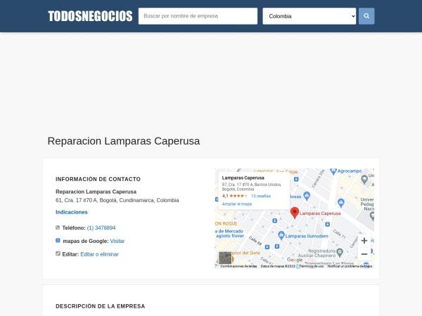 Captura de pantalla de co.todosnegocios.com