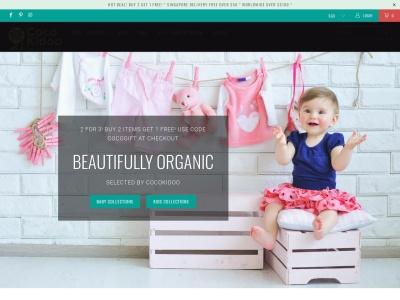 Screenshot of cocokidoo.com