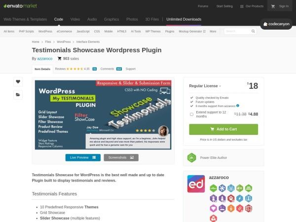 Screenshot of codecanyon.net