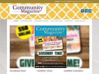 Community Coupon Magazine Website