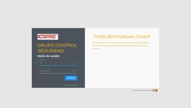 grupo control seguridad - Portal del empleado