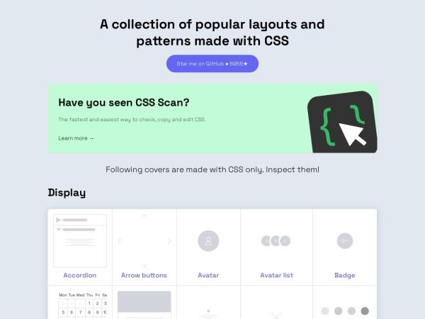 Screenshot of csslayout.io