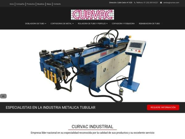 Captura de pantalla de curvac.com