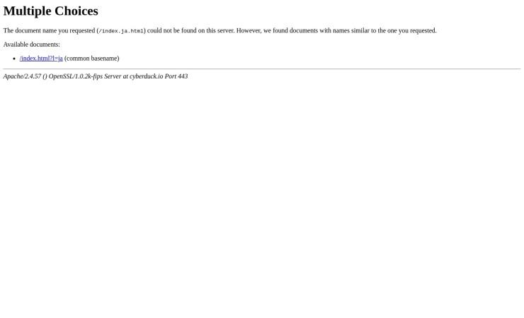 Screenshot of cyberduck.io