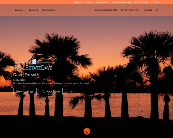 Screenshot of daveforsyth.com