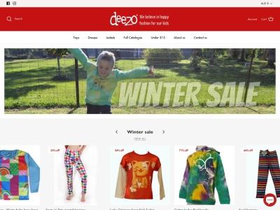 Screenshot of deezo.com.au