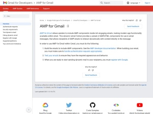 AMP for Gmail