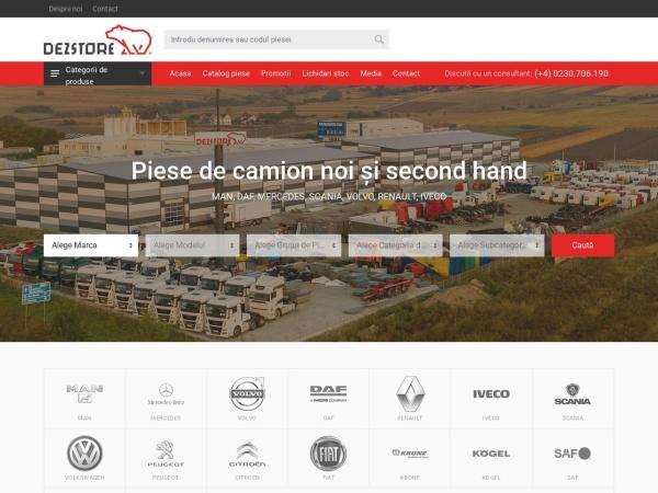 Screenshot of dezstore.com
