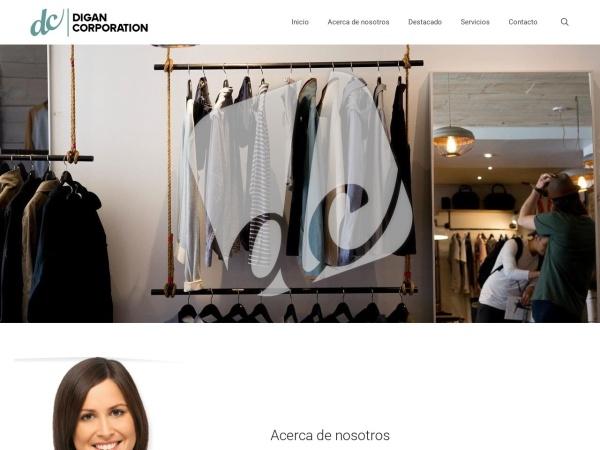 Captura de pantalla de digancorporation.com