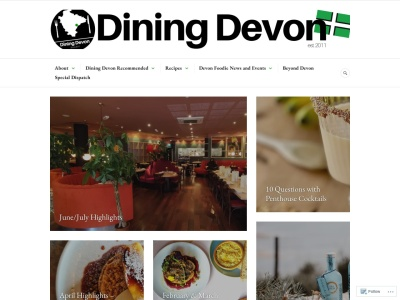 Dining Devon Screenshot