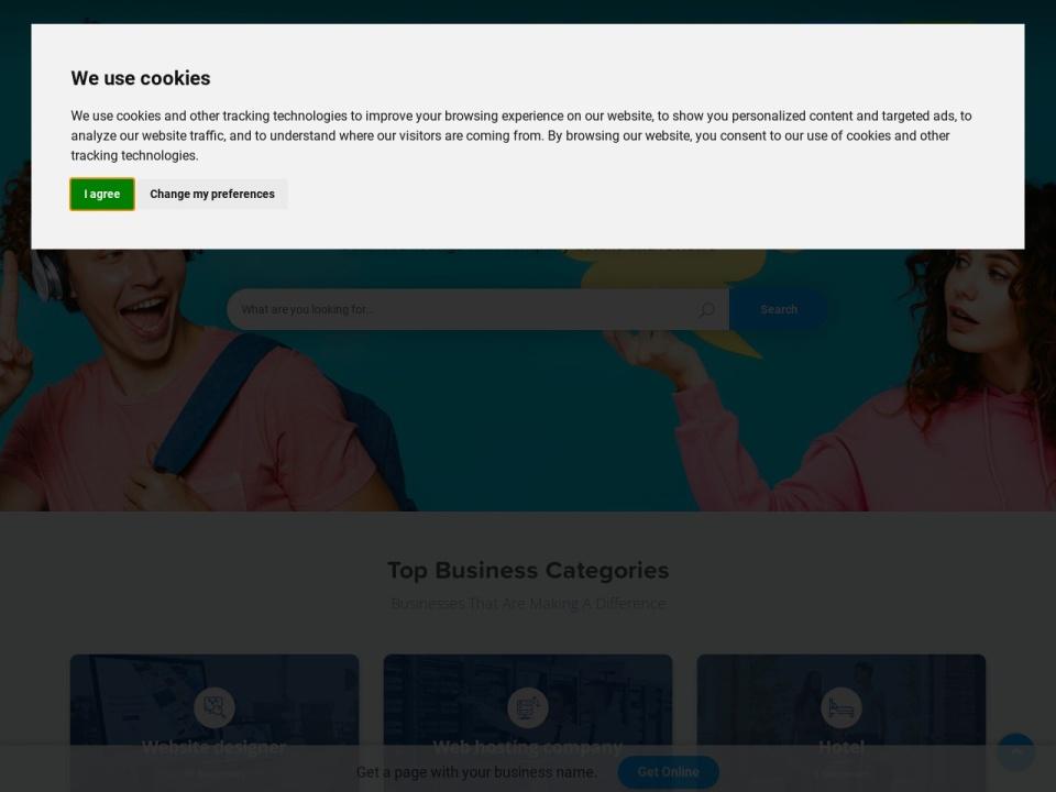 Screenshot of directory.seekahost.com