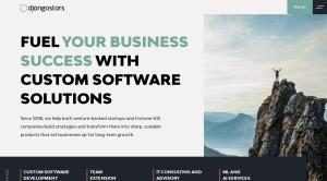 Screenshot of djangostars.com