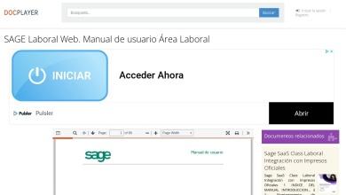 SAGE Laboral Web. Manual de usuario Área Laboral