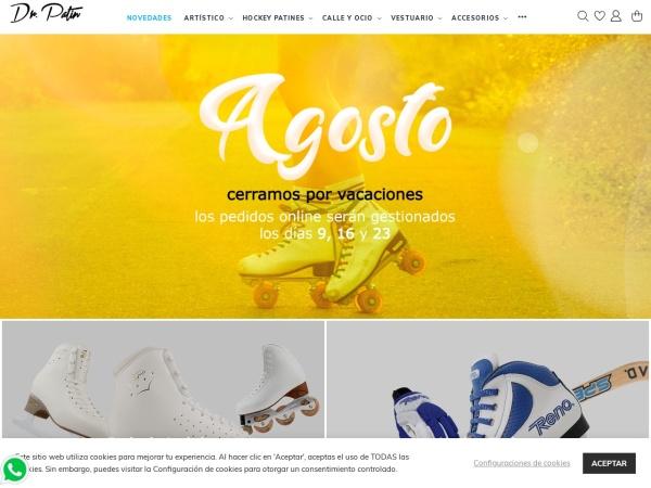 Captura de pantalla de doctorpatin.com