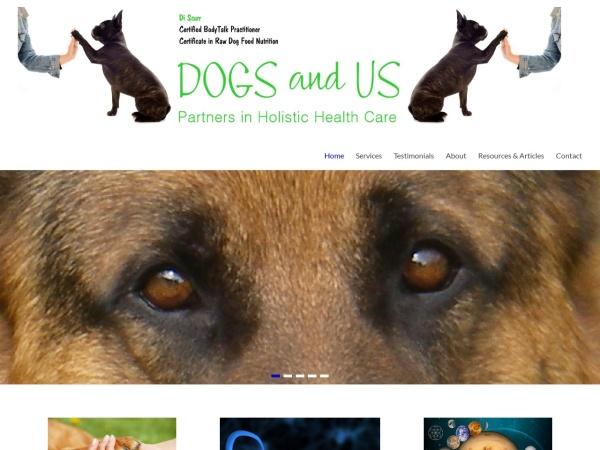 Screenshot of dogsandus.nz