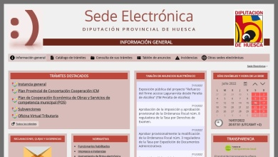 Información general - Sede Electrónica - DIPUTACIÓN ...