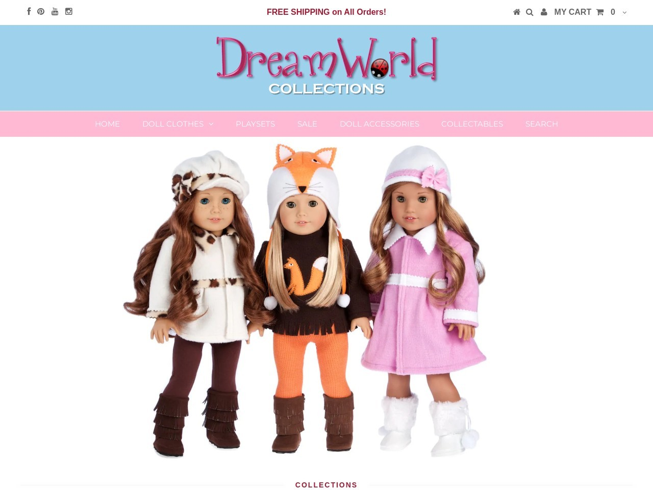 dreamworldcollections.com