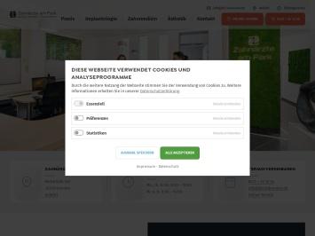 Screenshot von drlindemann.de